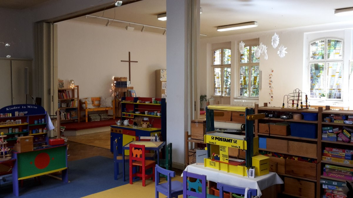 Kinder in die Mitte, Berlin / Bethanien Stiftung