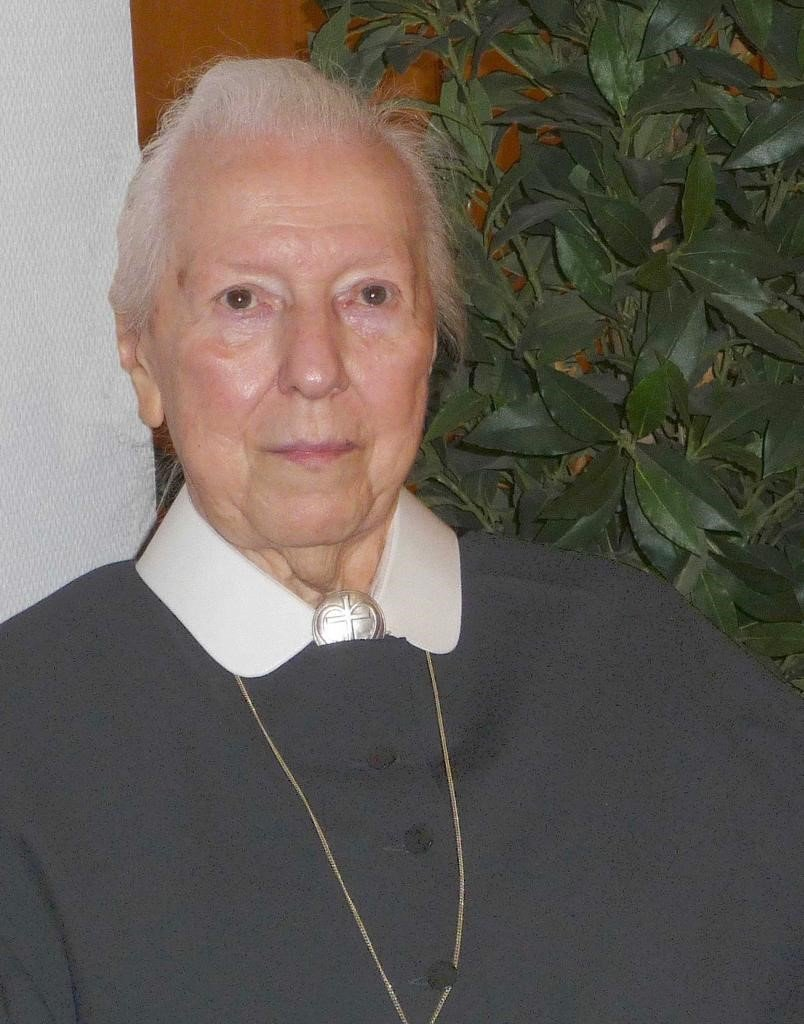 Portrait Sr. Helga Christ